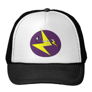 lightning bolt selfie cap