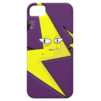lightning bolt selfie iPhone 5 cover