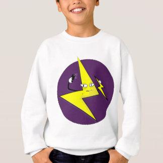 lightning bolt selfie sweatshirt