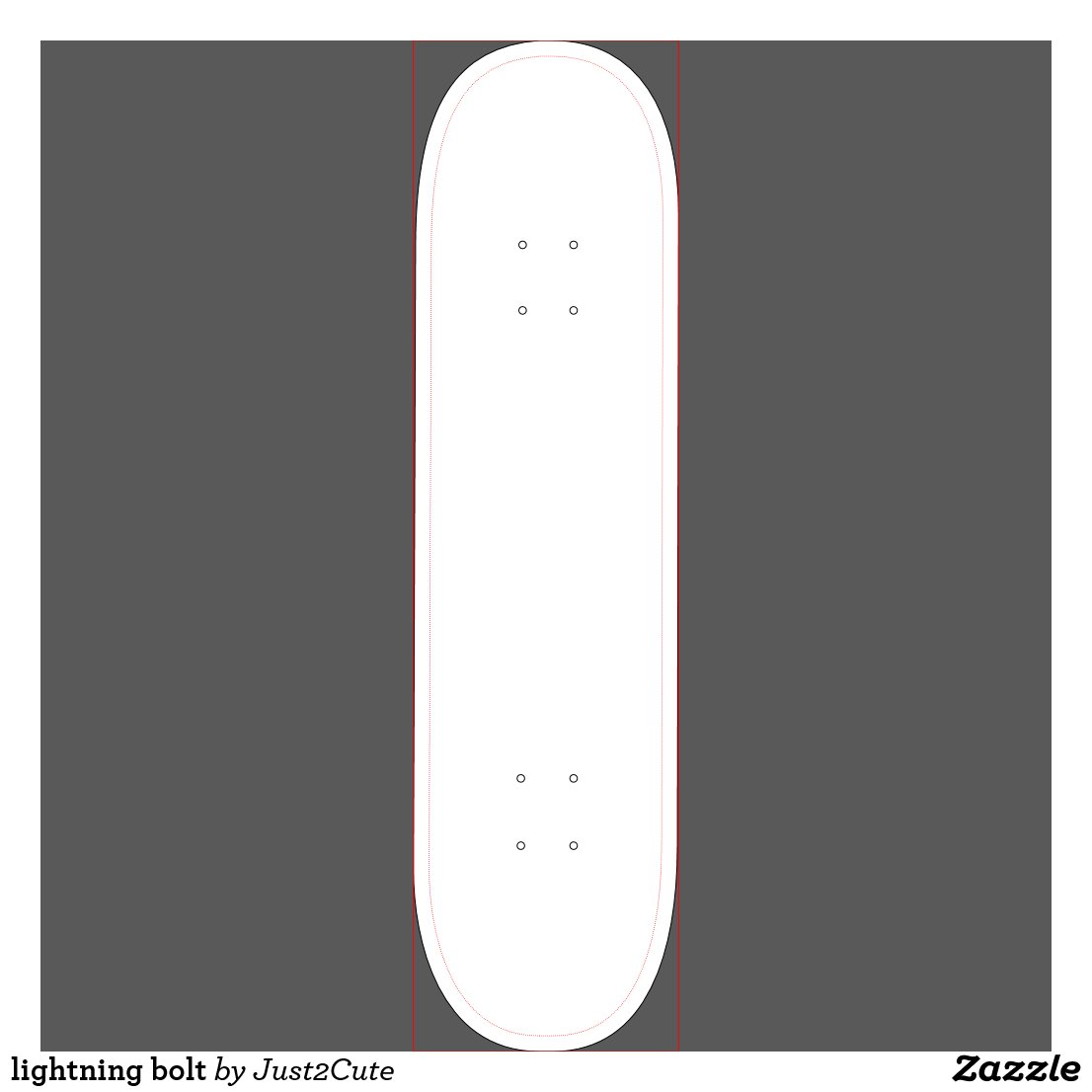 Skateboard Lightning Bolt Lightning Bolt Skateboard Deck