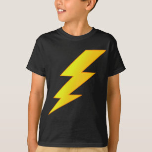 73ad237b Lightning Bolt T-Shirts & Shirt Designs | Zazzle.com.au