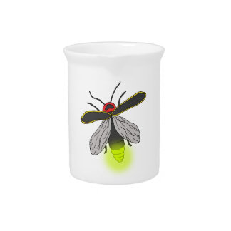 lightning bug flight lit pitcher