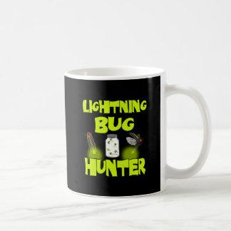 lightning bug hunter coffee mug