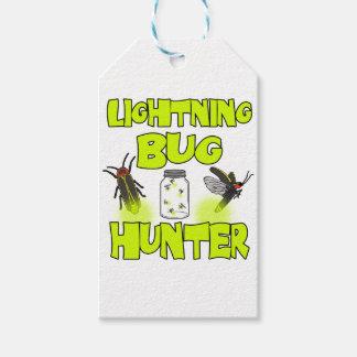 lightning bug hunter gift tags