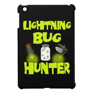 lightning bug hunter iPad mini covers
