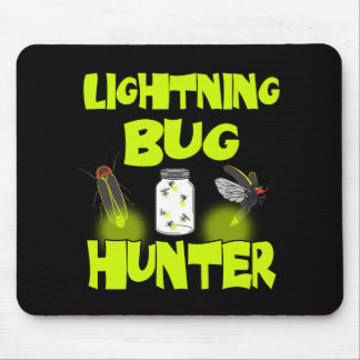 lightning bug hunter mouse pad
