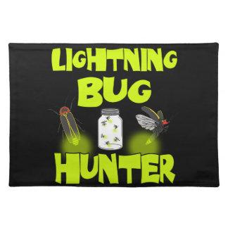 lightning bug hunter placemat