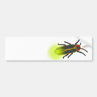 lightning bug lit bumper sticker