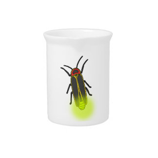 lightning bug lit pitcher