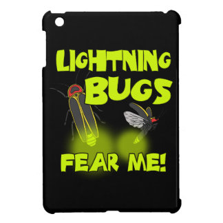 Lightning Bugs fear me iPad Mini Cover