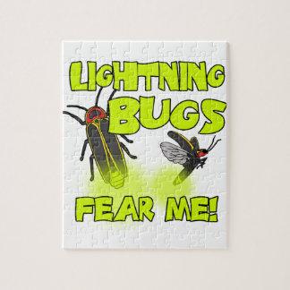 Lightning Bugs fear me Jigsaw Puzzle
