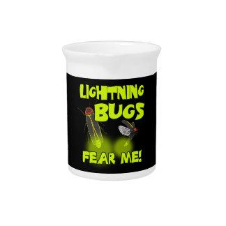 Lightning Bugs fear me Pitcher