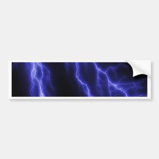 lightning bumper sticker