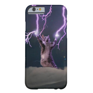 Lightning cat--kitty-pet-feline-pet cat -kittens barely there iPhone 6 case