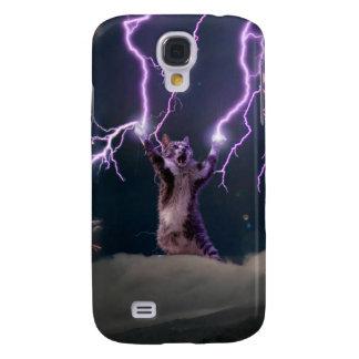 Lightning cat--kitty-pet-feline-pet cat -kittens galaxy s4 case