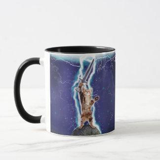 Lightning Cat Mug