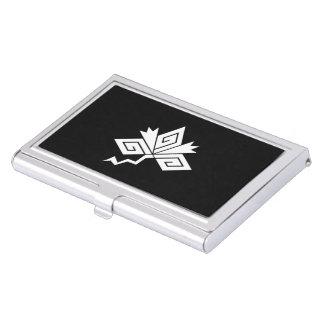 Lightning crane business card holder