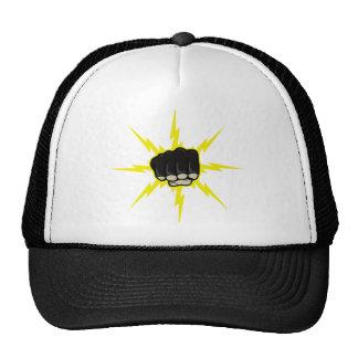 Lightning fist cap