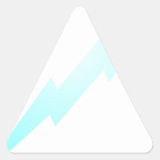 Lightning Flash Triangle Sticker