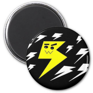 Lightning Kawaii Strike Magnet