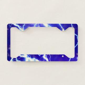 Lightning license plate licence plate frame