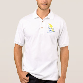 Lightning Logo, Basketball Coach 2007 Polo Shirt
