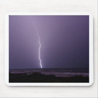 Lightning on Ocean Mouse Pad