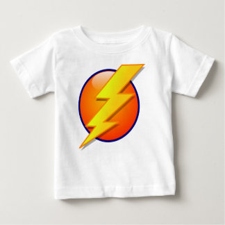 lightning orb energy icon vector baby T-Shirt