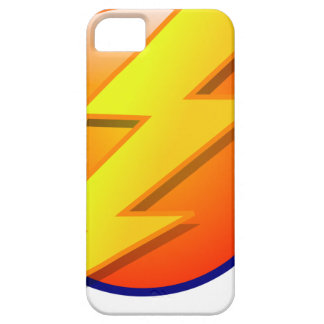 lightning orb energy icon vector barely there iPhone 5 case