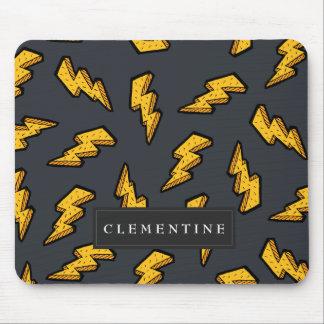 Lightning Pattern Mouse Pad