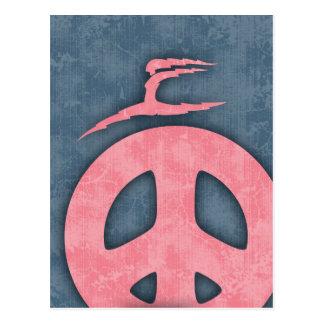 Lightning Peace Postcard