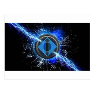 Lightning power postcard