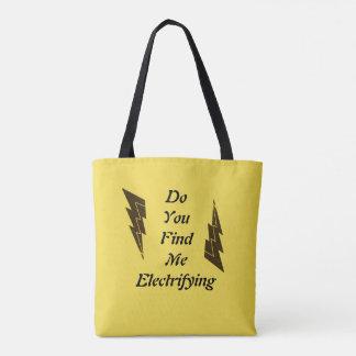 Lightning Puns Tote Bag