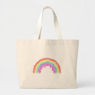 Lightning Rainbow Large Tote Bag