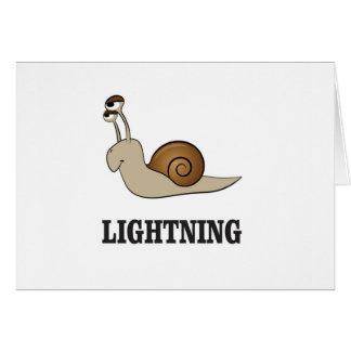 lightning snail card