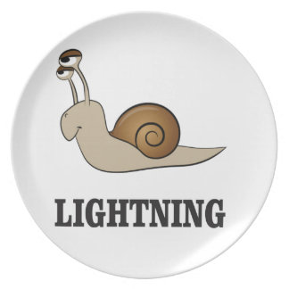 lightning snail plate