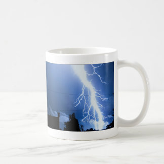 Lightning Strike 2 Basic White Mug