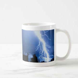 Lightning Strike 2 Basic White Mug