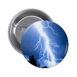 Lightning Strike 2 Pinback Button