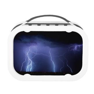 Lightning Strike 3 Lunch Boxes