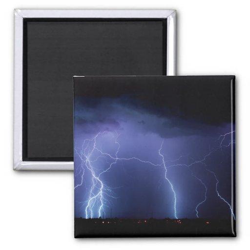 Lightning Strike 3 Magnet