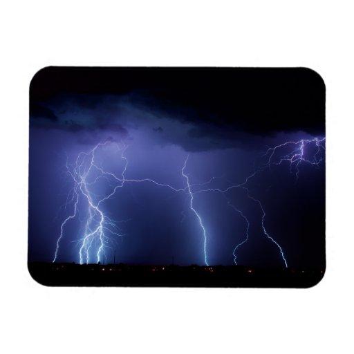 Lightning Strike 3 Flexible Magnet