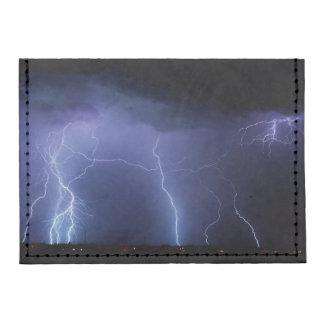 Lightning Strike 3 Tyvek® Card Case Wallet