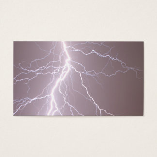 Lightning Strike - Business Cards