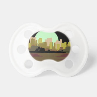 Lightning Strike City Pacifiers