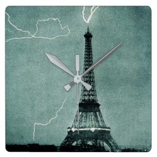 Lightning Strike Clock