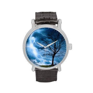 Lightning Strike Wristwatch