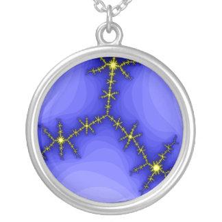 Lightning Strike Fractal Necklace