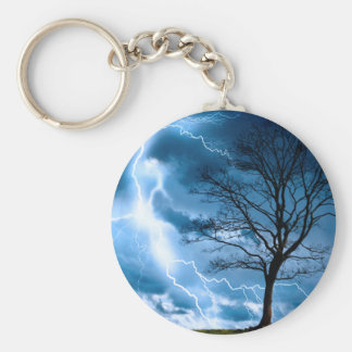 Lightning Strike Key Chains