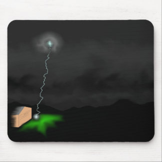 Lightning strike mouse pad